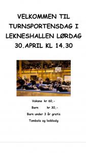 Turnsportens dag 30 April